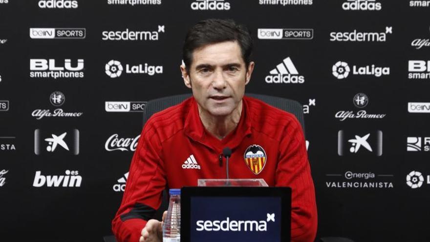 """Marcelino: """"Si me dieran elegir, preferiría ser campeón de la Liga Europa"""""""