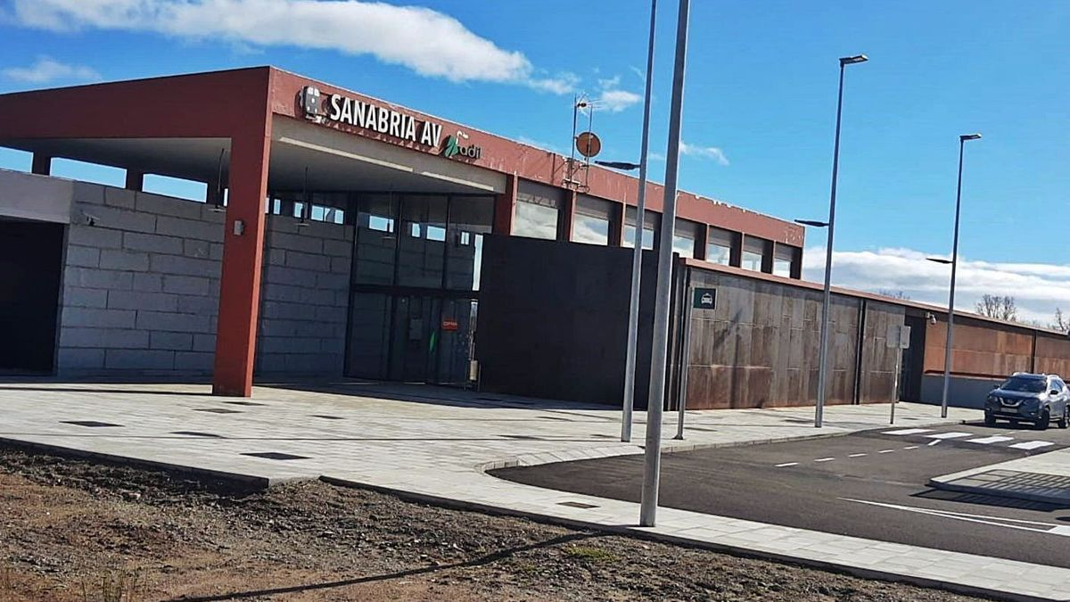 Estación de Alta Velocidad de Otero de Sanabria. | LOZ