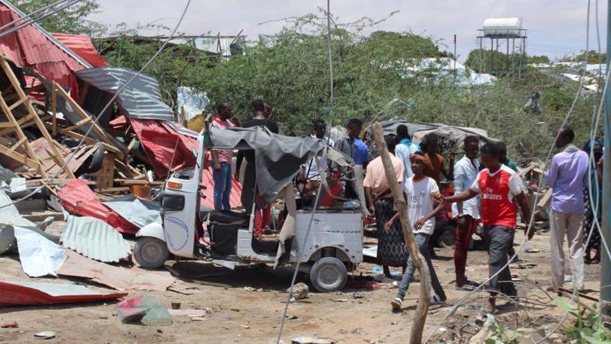 Atentado contra una base de EEUU y un convoy militar de la Unión Europea en Somalia