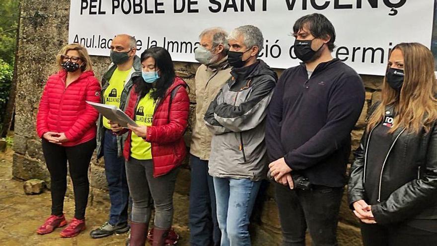 Sant Vicenç recull 671 firmes perquè el Bisbat li cedeixi Vallhonesta