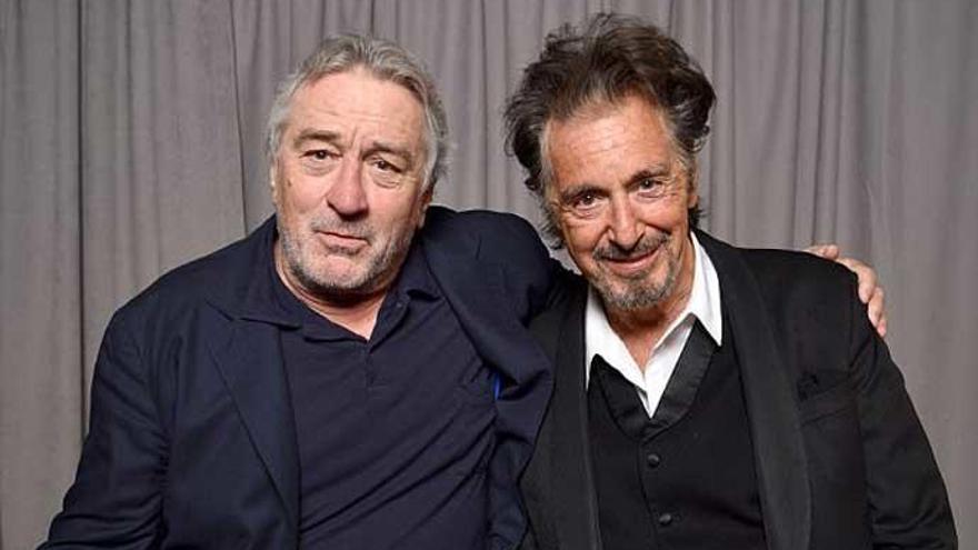 De Niro y Al Pacino reflexionan sobre 'El irlandés', la nueva película de Scorsese