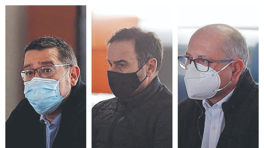 La Fiscalía rebaja de 14 a 8 años la pena para Crespo, Cuesta y Roca por delito fiscal en Emarsa