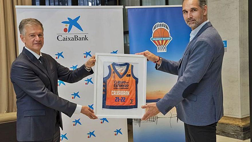 CaixaBank renueva su compromiso con el Valencia BC