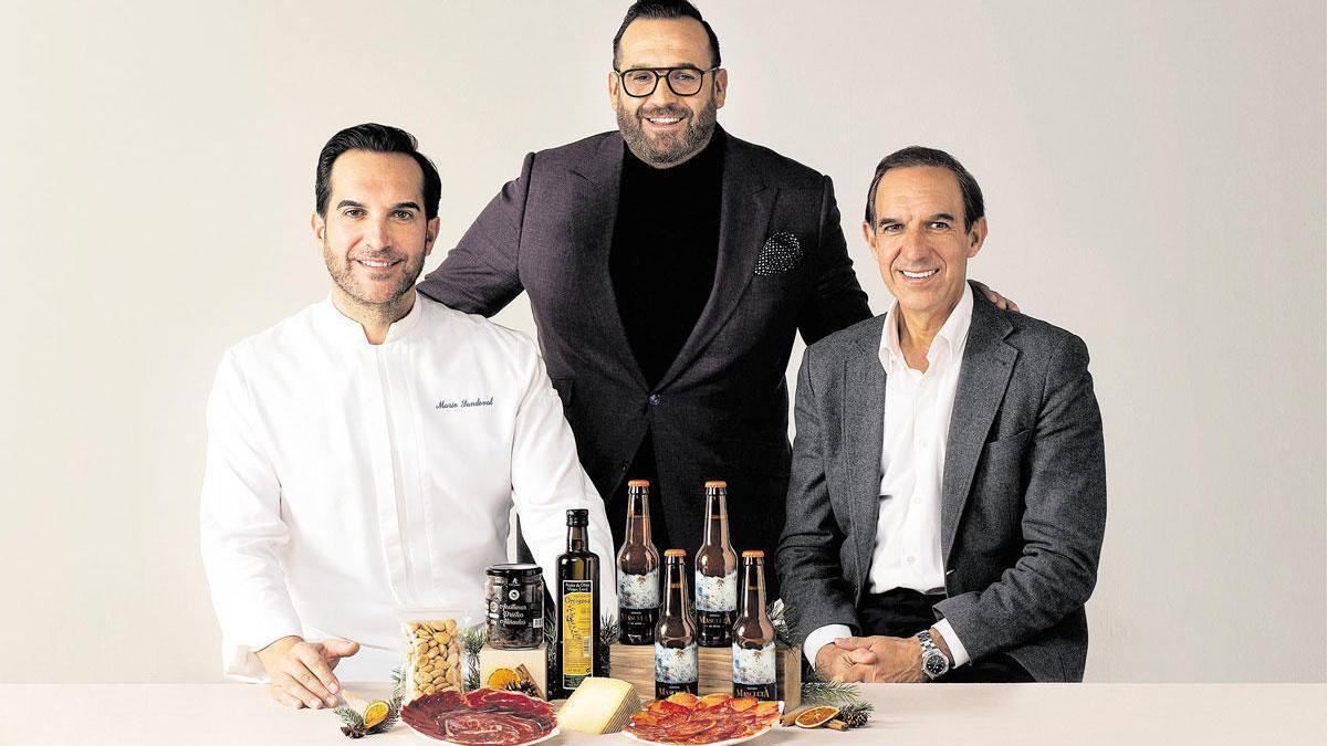 Los hermanos Sandoval, propietarios del restaurante Coque de Madrid.