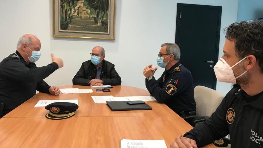 Operación Semana Santa de la Policía Local de Alicante con más de 700 agentes
