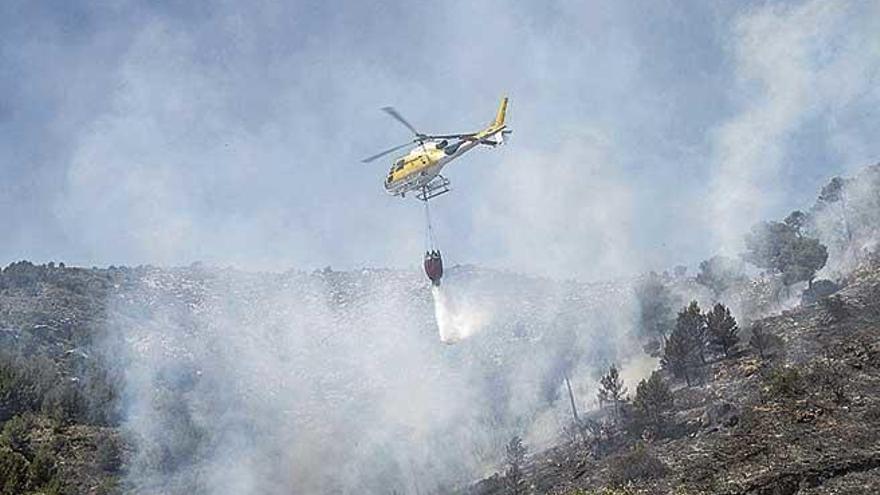 Alerta por riesgo extremo de incendios en Mallorca
