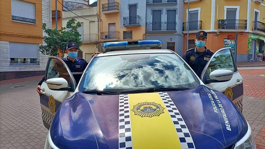 Simat y Benifairó formalizan la unión de sus policías al autorizarlo la Generalitat