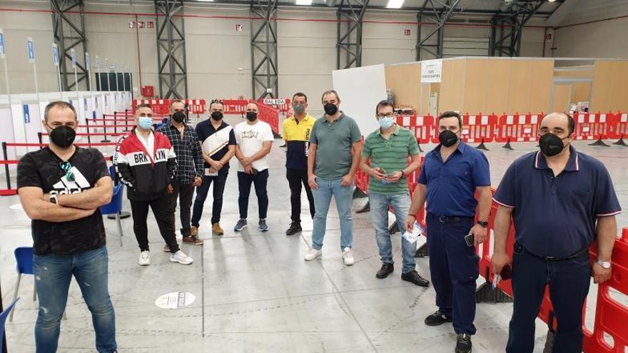 Galicia vacuna a tripulantes del 'Vizconde de Eza' pese a ser de competencia estatal