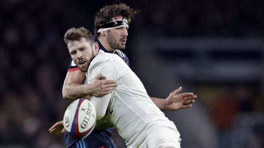 Inglaterra empieza la defensa de su corona con un triunfo sobre Francia