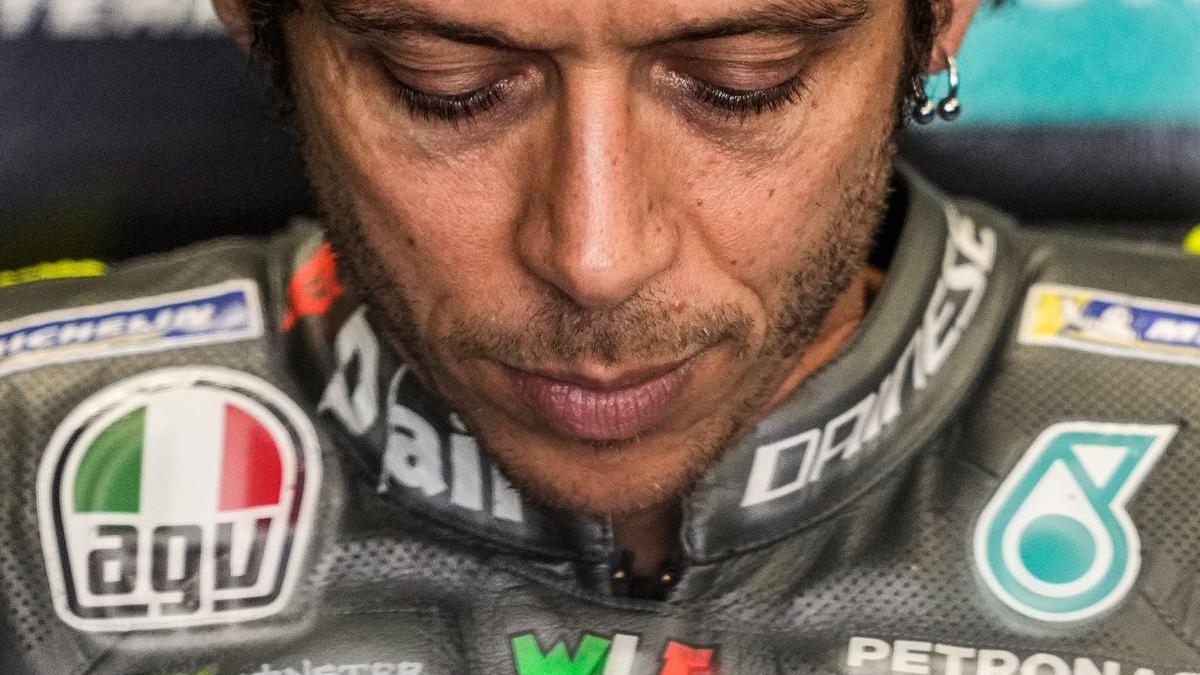 El veterano piloto italiano Valentino Rossi