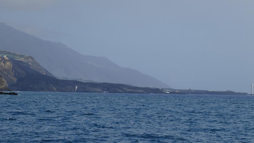Así se ve la lava bajo el mar en La Palma