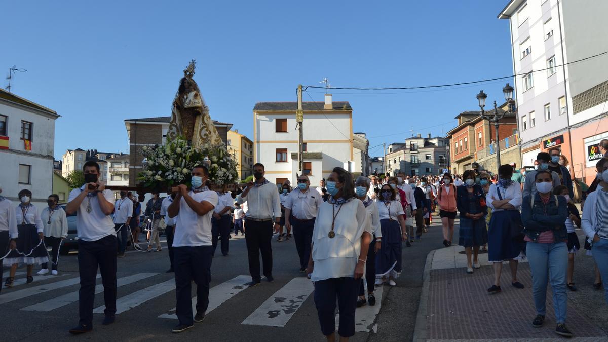 Celebración del Carmen en Tapia