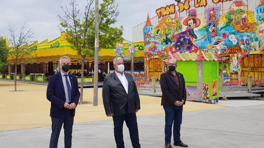Este jueves comienza en Lucena la Feria de la Primavera entre medidas de seguridad contra el covid