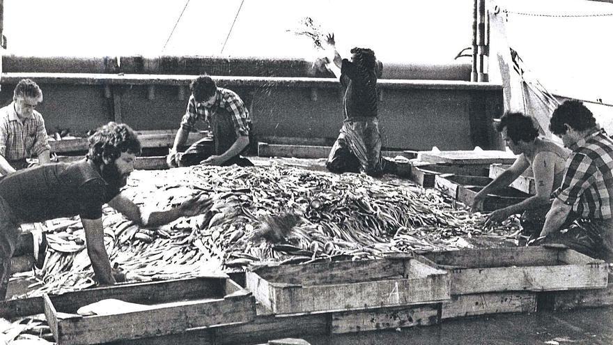 Del viejo muelle pesquero