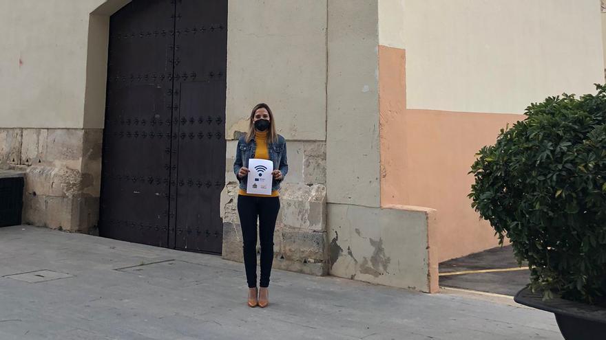 El Ayuntamiento de Orihuela instala puntos de conexión WiFi en espacios públicos