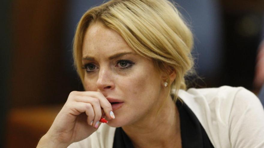 Lindsay Lohan pierde parte de un dedo en un accidente marítimo