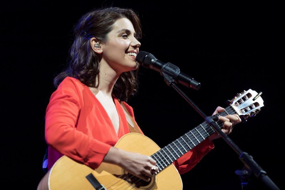 Concert de Katie Melua al festival de Cap Roig