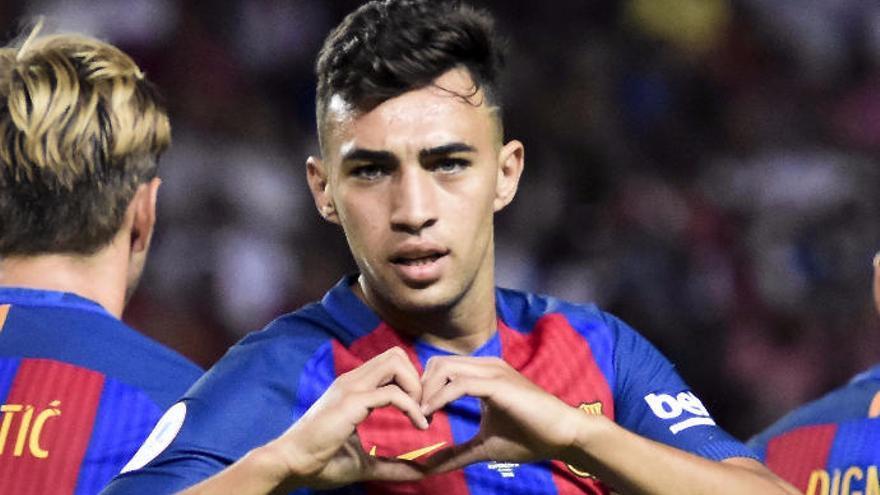 El Barcelona ofrece a Munir a la UD