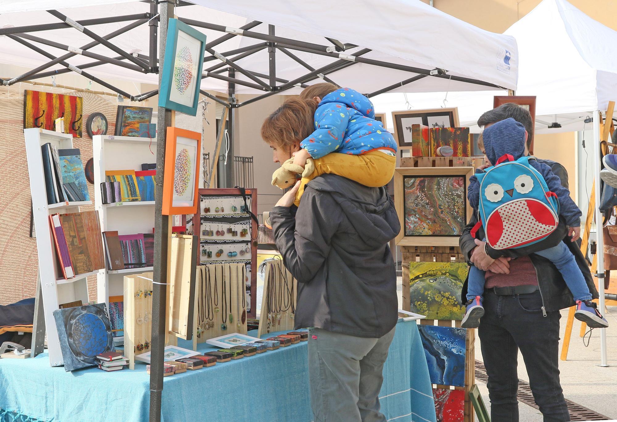 Les millors imatges de la primera edició de l'Artífex Market a Manresa