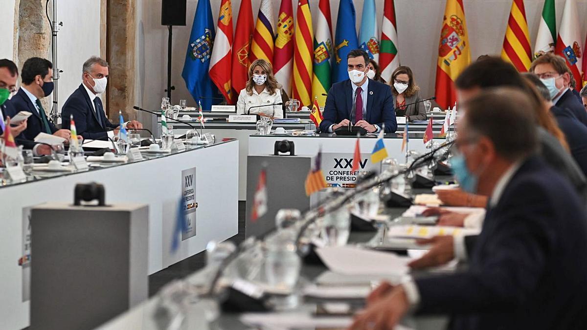 Un moment de la conferència de presidents de Salamanca. | ACN
