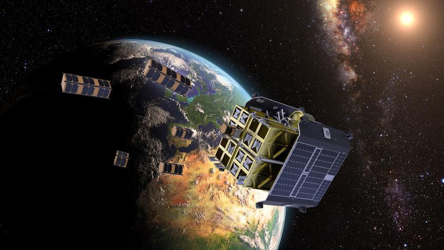 El IAC lanza este viernes al espacio su primera cámara infrarroja