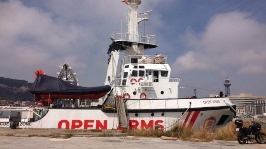 Open Arms transportarà material humanitari sense poder rescatar persones