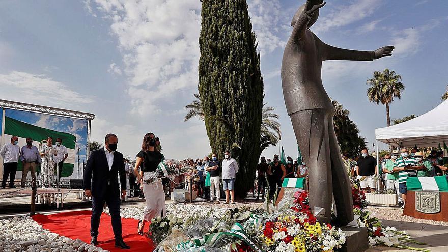 Los partidos reivindican el legado de Blas Infante en el aniversario de su fusilamiento