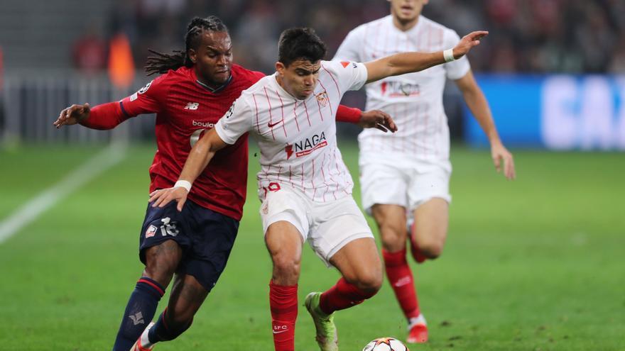El Sevilla suma ante el Lille su tercer empate seguido en la Champions