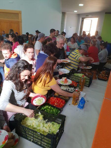 Encuentro de aurocaravanistas en Venialbo