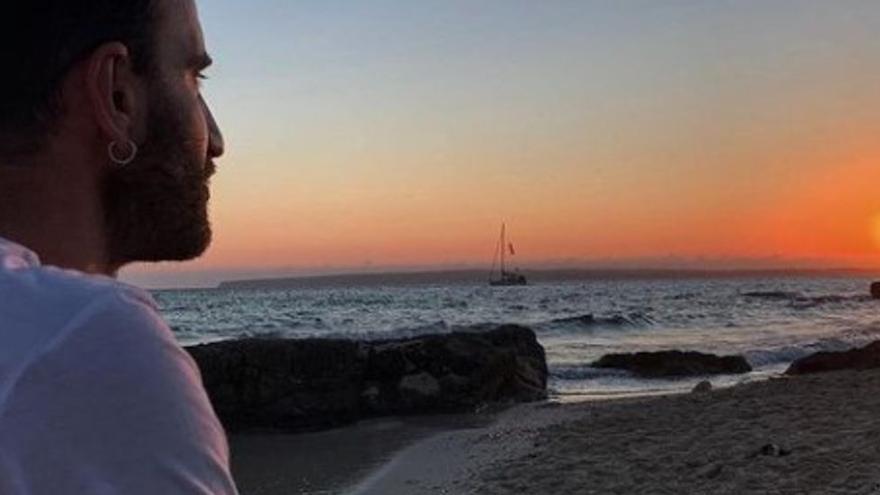 Dani Rovira, de vacaciones en Formentera