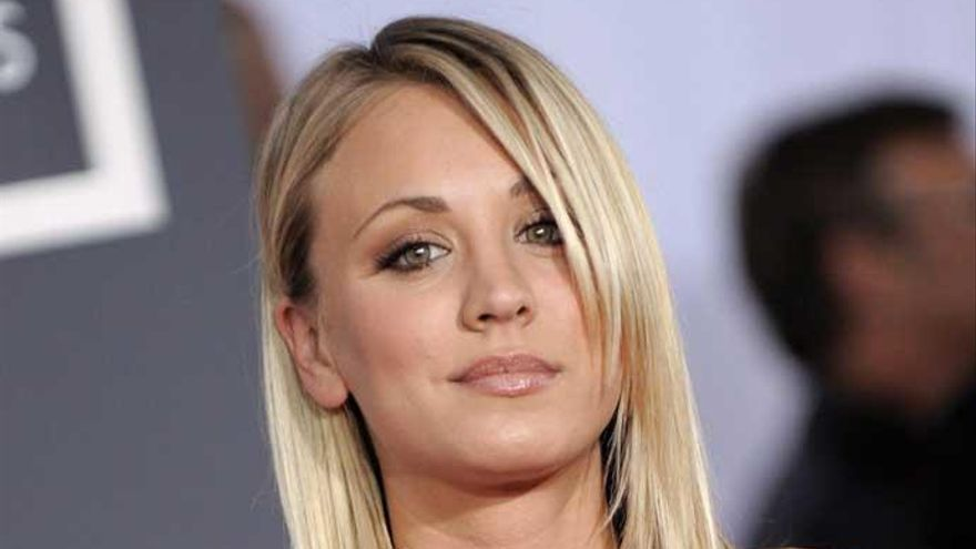 Así es Kaley Cuoco, de 'The Big Bang Theory', al natural