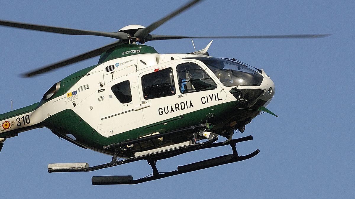 Die Bergrettung der Guardia Civil fand den Verunglückten.