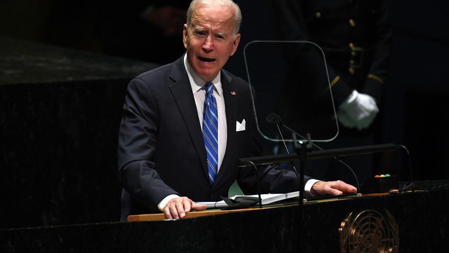 """Biden: """"No buscamos una nueva guerra fría, un mundo dividido en bloques"""""""