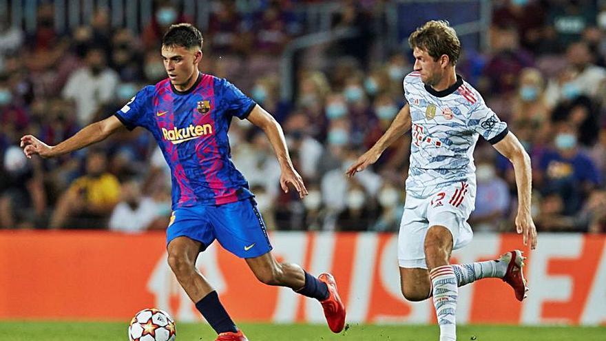El Barça perd per lesió    Pedri i Jordi Alba, tots dos amb problemes musculars