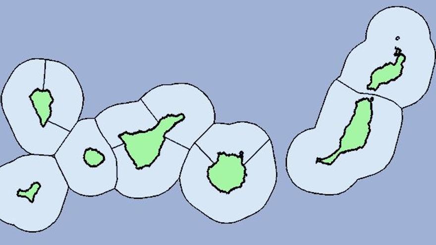 Posibilidad de chubascos este jueves en Canarias