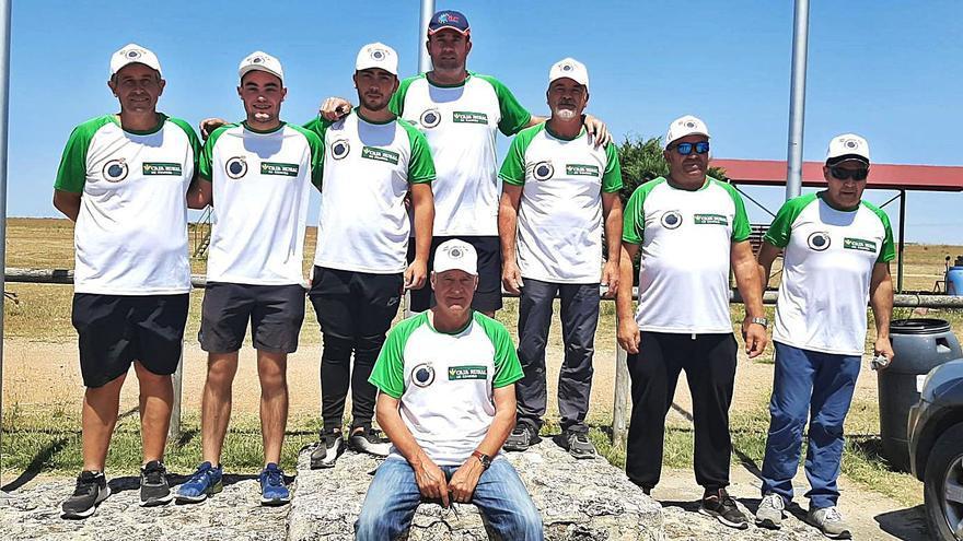 Zamora, subcampeona regional en foso olímpico