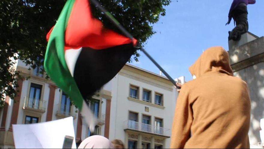 Cinc identificats a Figueres per una baralla durant l'acte en suport a Palestina