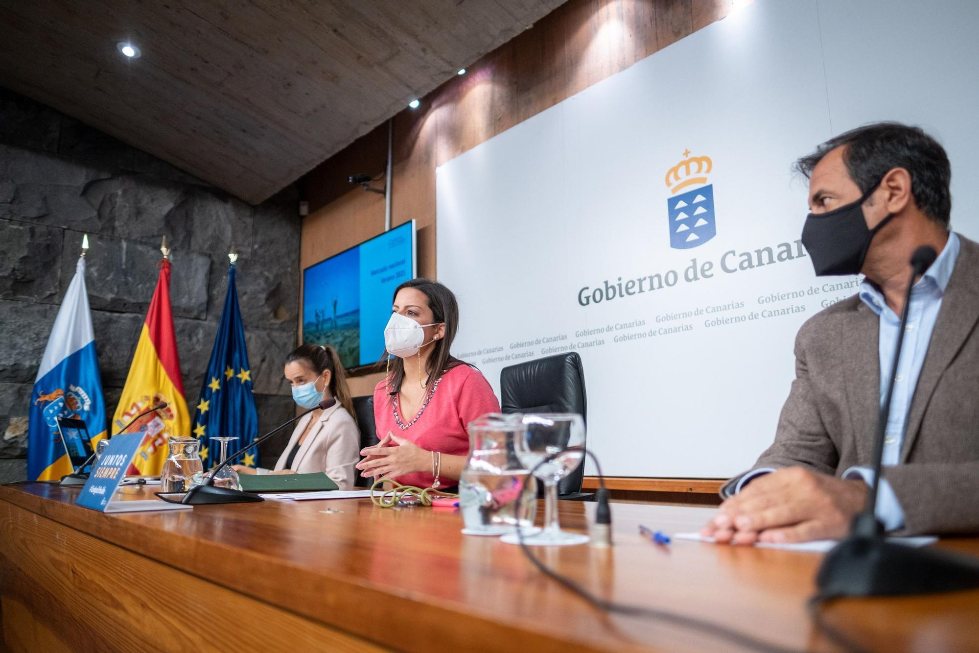 Yaiza Castilla da detalles sobre la presencia de Canarias en Fitur 2021