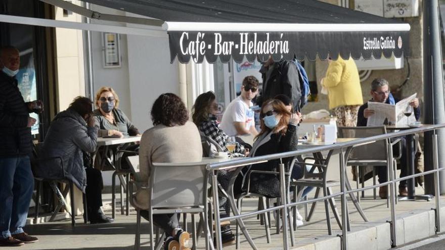 El área de Pontevedra reabre el viernes las terrazas y la movilidad entre concellos