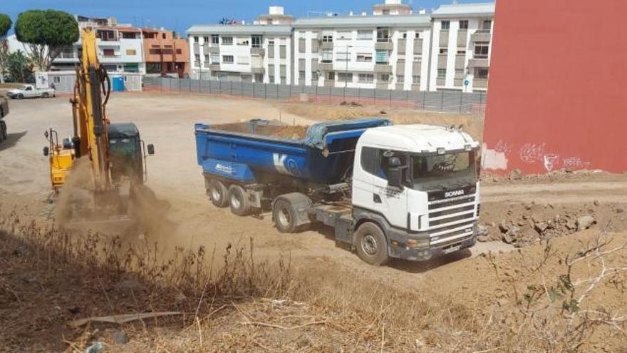 Lidl inicia los primeros movimientos de tierra para la construcción de su tienda de San Juan