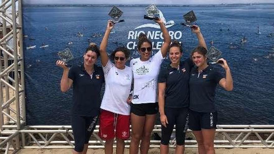 María Vilas, tercera en el Río Negro Challenge