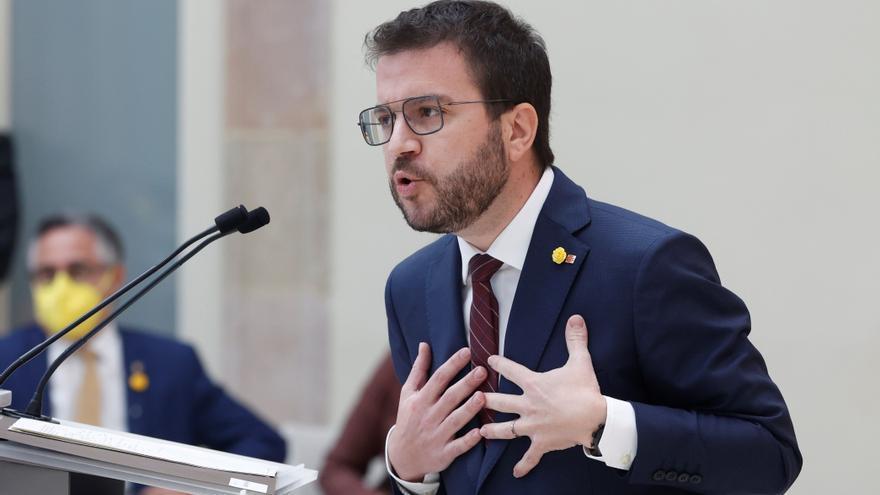 Segundo debate de investidura de Pere Aragonès a la presidencia de la Generalitat