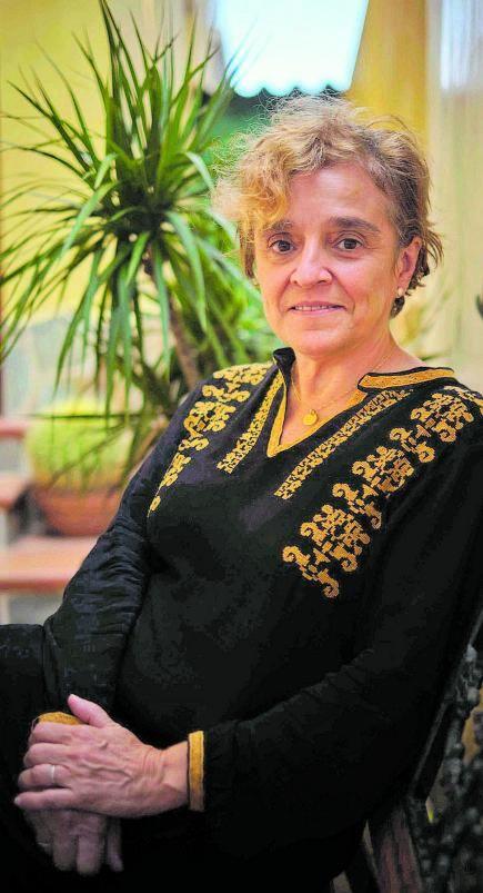 La responsable del IGN en Canarias, María José Blanco. | |