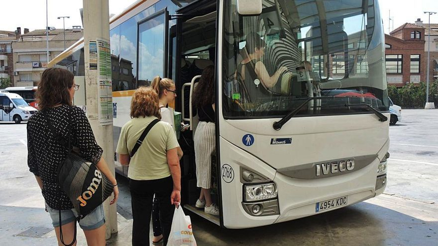 Els busos de la línia Manresa-Barcelona pararan a Gran Via i Passeig de Gràcia