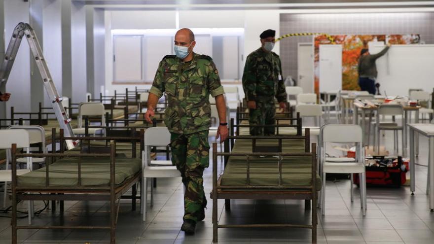 Portugal registra un nuevo récord con 291 fallecidos y los hospitales colapsados