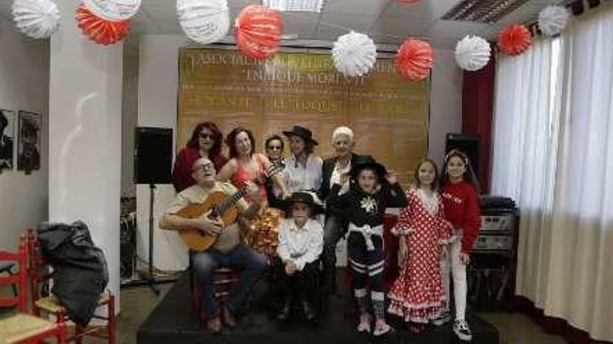 Fiesta flamenca de la peña Enrique Morente