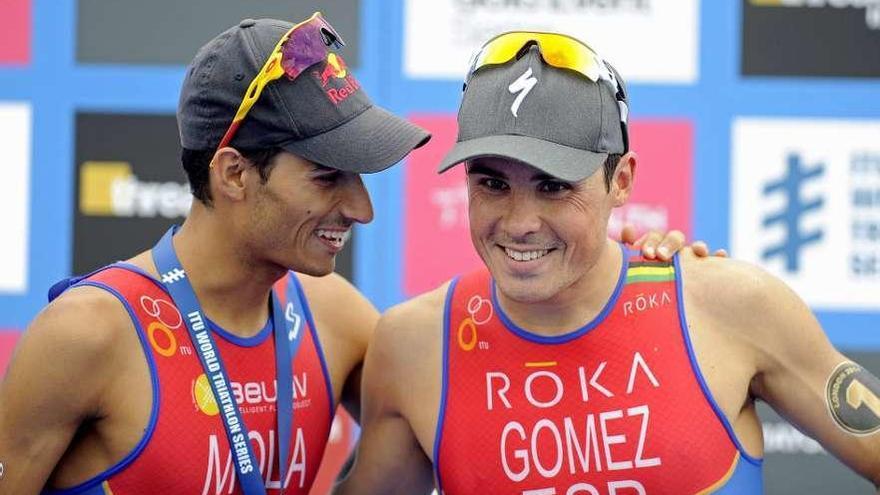 Gómez Noya inicia el camino a Tokio