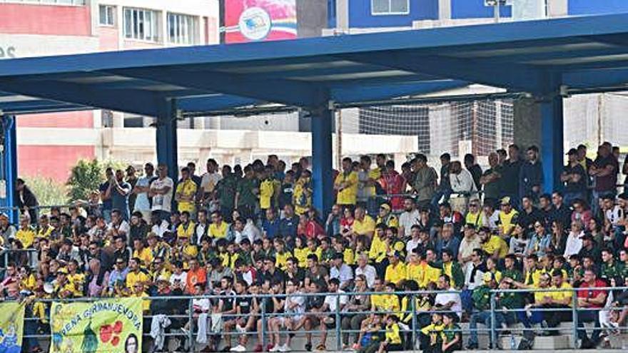 Las Palmas Atlético todavía jugará sus partidos como local en el Anexo al Estadio