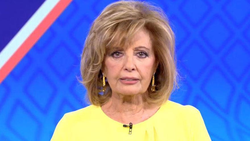 """María Teresa Campos: """"No veía el momento de acabar mi contrato con Mediaset"""""""