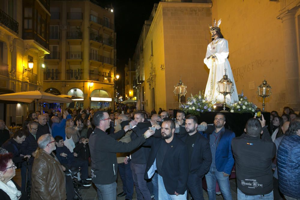 El Vía Crucis abre la Semana Santa 2020 en Alicante